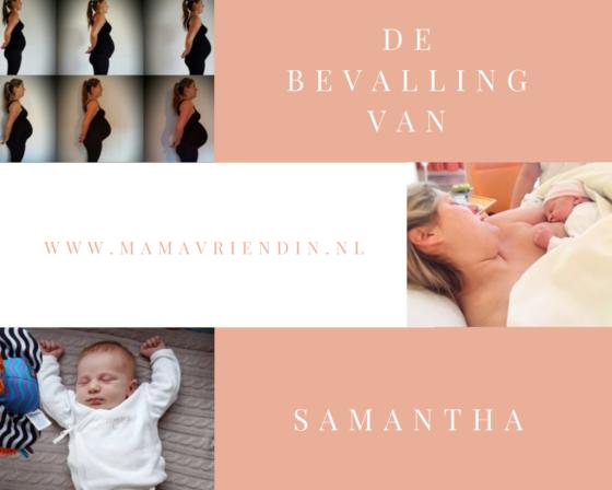 De bevalling van Samantha